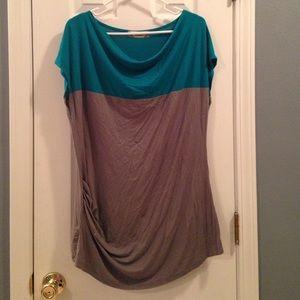 Multi color dress top