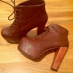 Jeffrey Campbell Shoes - 🎉SALE🎉Jeffrey Campbell Lita Heels Leather size:7