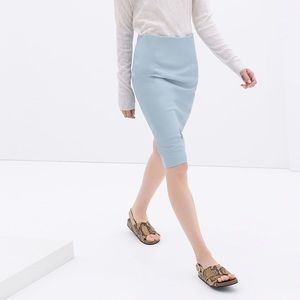 Zara Dresses & Skirts - Zara Leather Pencil Skirt