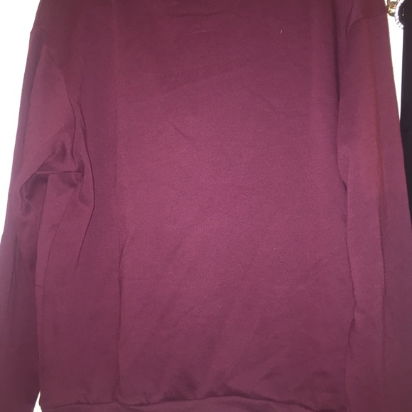 48% off PINK Victoria's Secret Sweaters - PINK brand new maroon ...
