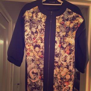 European Culture Jackets & Blazers - European Culture Neoprene Jacket