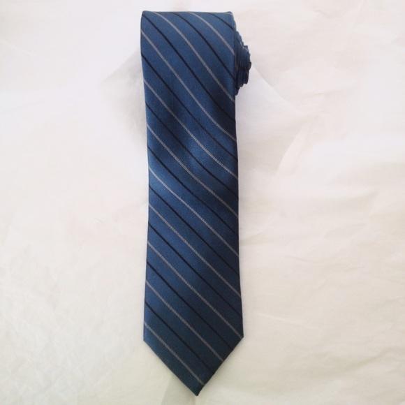 eee701af7bd8 Calvin Klein Accessories | Mens Deep Teal Extreme Slim Silk Tie ...