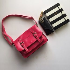 The Cambridge Satchel Company Handbags - Hot Pink crossbody satchel