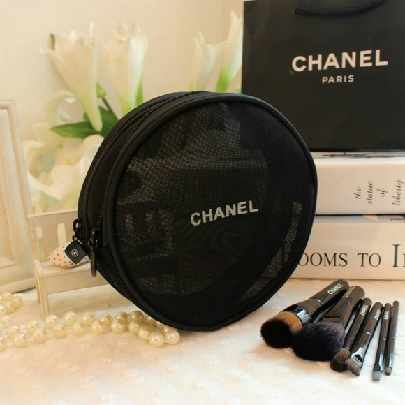 6985552be344 Chanel Accessories | Authentic Round Mesh Cosmetic Bag | Poshmark