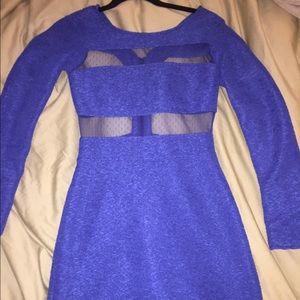 Blue BCBG generation cocktail dress
