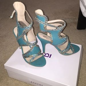 Bakers Shoes - Ankle strap heel