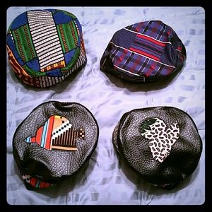 Accessories - **SOLD **Kente and African wax print unisex hats
