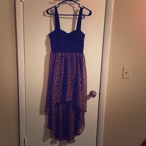 Leopard dress size M