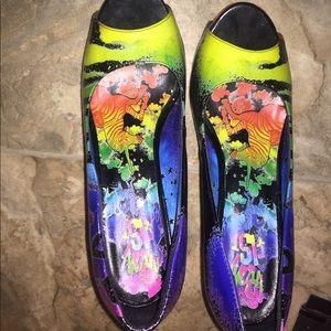 Iron fist heels for torrid