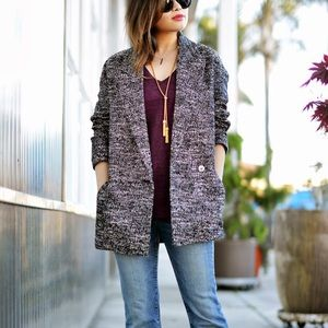 H&M Jackets & Blazers - H&M Tweed Jacket Coat