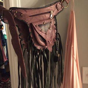 Hip belt purse