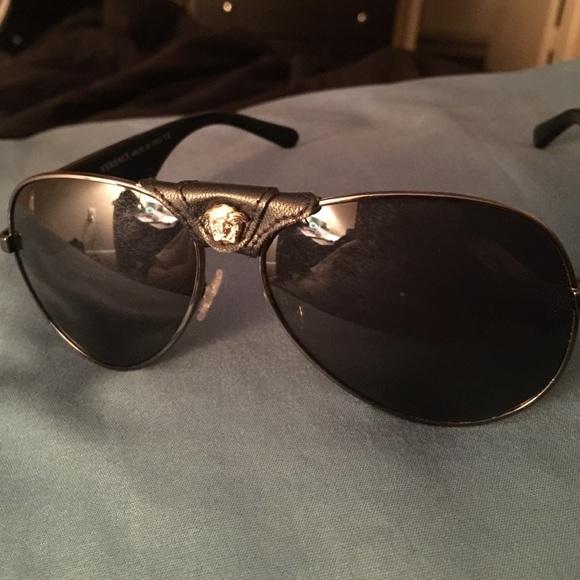ad3d75e329a Versace runway Medusa aviator sunglasses. M 5666785ca722652028020fdc. Other  Accessories ...