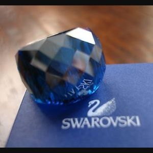 Swarovski Nirvana Ring Size 55 comes with boxes.