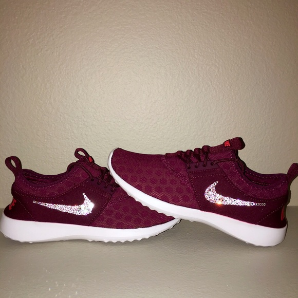 info for 5490e 164b1 Nike Juvenate Burgundy with Swarovski Crystals