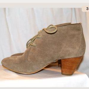ALDO Shoes - ALDO Suede Tan Desert Boots Pumps Heels SIZE 6