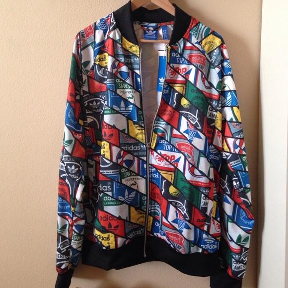 Adidas giacche & cappotti nwt traccia giacca logo poshmark