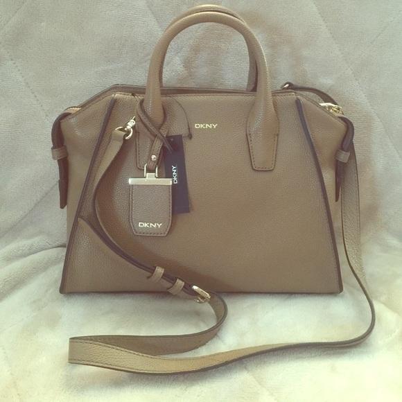 55% off DKNY Handbags - DKNY Chelsea leather satchel from Jeet's ...