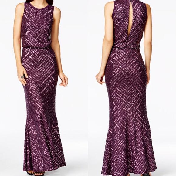 Calvin Klein Dresses | Calvin Klien Mermaid Silhouette Formal Gown ...
