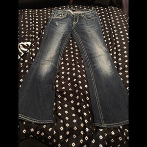 Express Bebock Boot Cut Jeans Size- 2 short