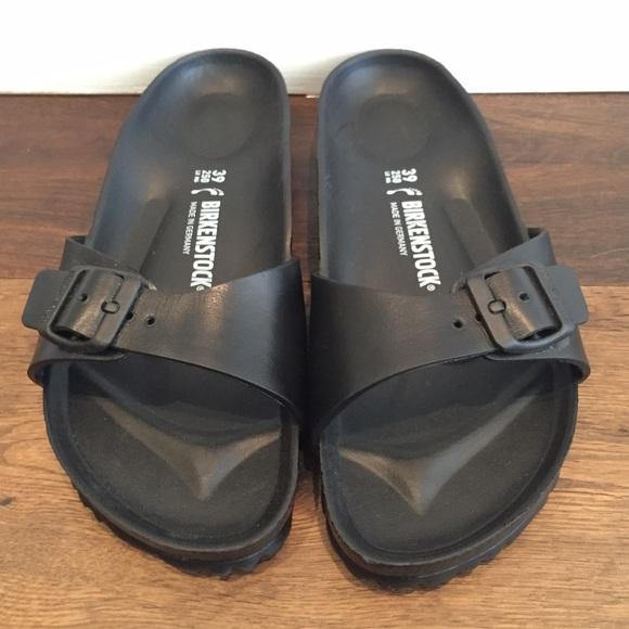 5e5cb4505dd Birkenstock Shoes - Birkenstock  Madrid EVA  all black sandals