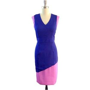Dresses & Skirts - Lilac & Blue Cocktail Sheath Pencil Dress