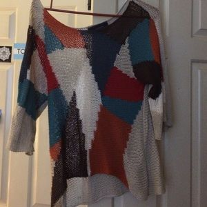 Funky knitted sweater