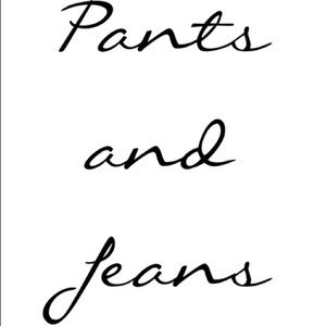 Pants - Pants and jeans