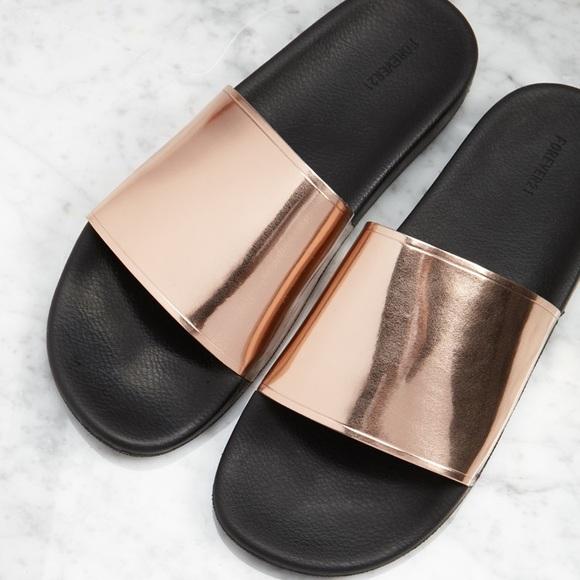 5406bc7f995e Forever 21 Shoes - 🌸Slides Sandal from Forever21🌸