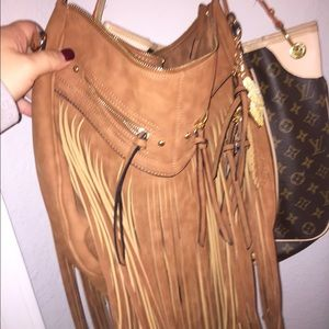 Aldo fringe purse