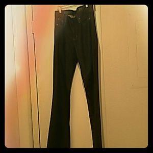 J.Crew Boot cut Jeans Dark Wash 33R