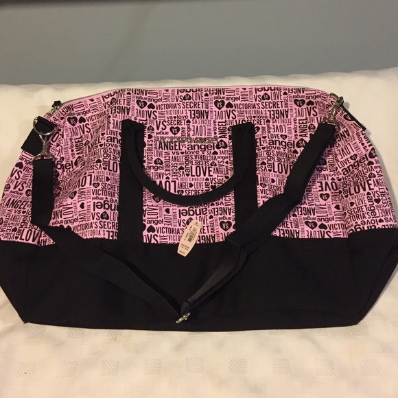 37c7318512c4 NWT Victoria Secret Duffle Travel Gym Bag
