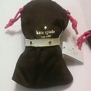Kate Spade Bangle. Cream