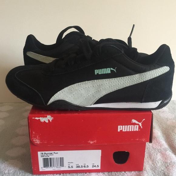 puma 76. puma shoes - new puma 76 runner fun size 6.5 s