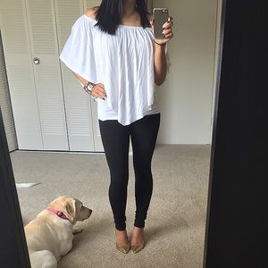 James & Joy Tops - Closet Clear out💥 White off shoulder flowy top