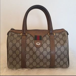 Vintage Gucci Monogram Speedy Bag