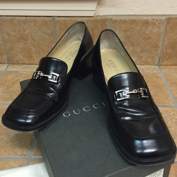 87f9a953379 Gucci Shoes - GUCCI - Women s Vintage Black Loafers   Size  ...