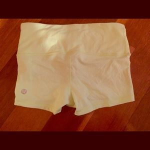 Lululemon workout shorts