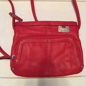 Red Tignanello Crossbody Bag