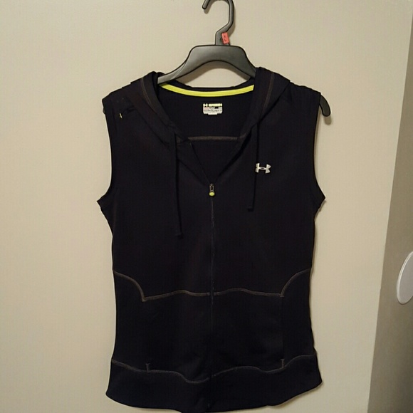 Under Armour Sleeveless Hoodie - Trendy Clothes