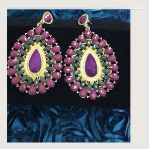 Boutique Jewelry - 🆕 Listing Stunning Purple Dangling Earrings