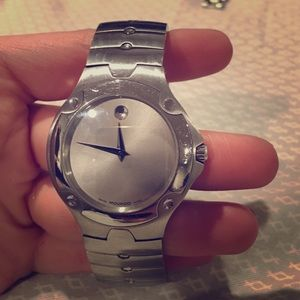 Men's Movado Stainless Steel Watch