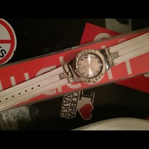 Swatch Jewelry - White band swatch