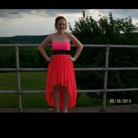 Macys Dresses High Low Prom Dress Poshmark