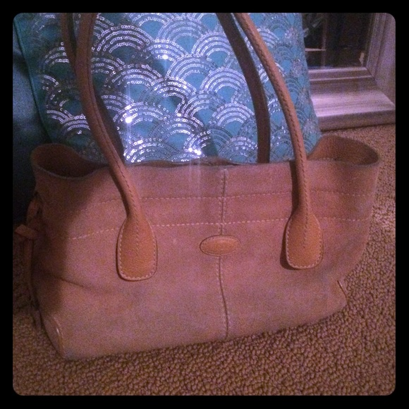 1f28cf2c212 Tod's Bags | Tods D Handbag Camel Suede | Poshmark