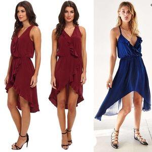 LA Made Dresses & Skirts - Burgundy Holiday Dress