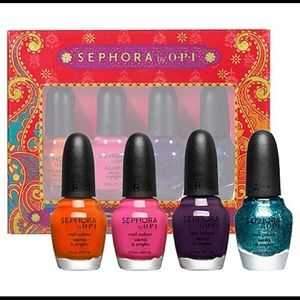Sephora by OPI Indian Summer mini set