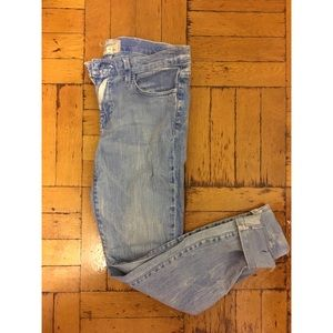 "Current/Elliot ""The Stiletto"" skinny jean size 27"