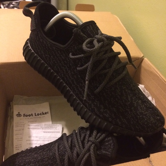 Adidas Yeezy Boost 350 Pirate Black Size 8