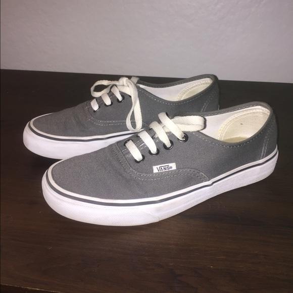Vans Shoes | Grey Classic Vans | Poshmark