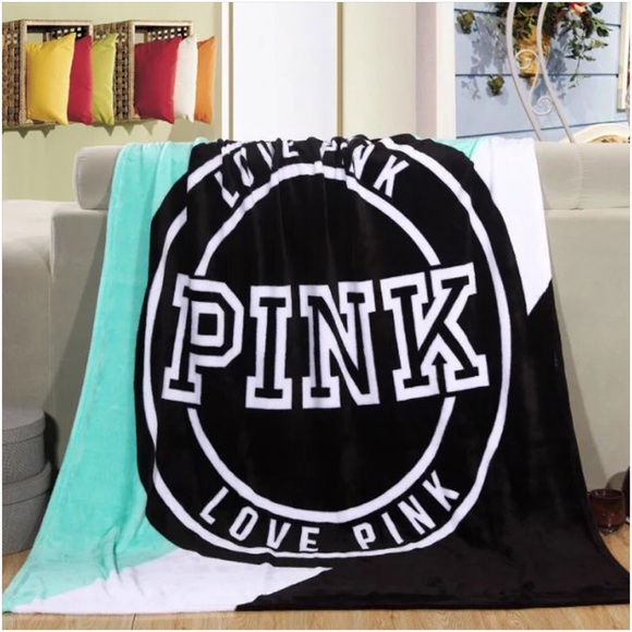 PINK Victoria's Secret - PINK VS Throw Blanket from Y's closet on ...